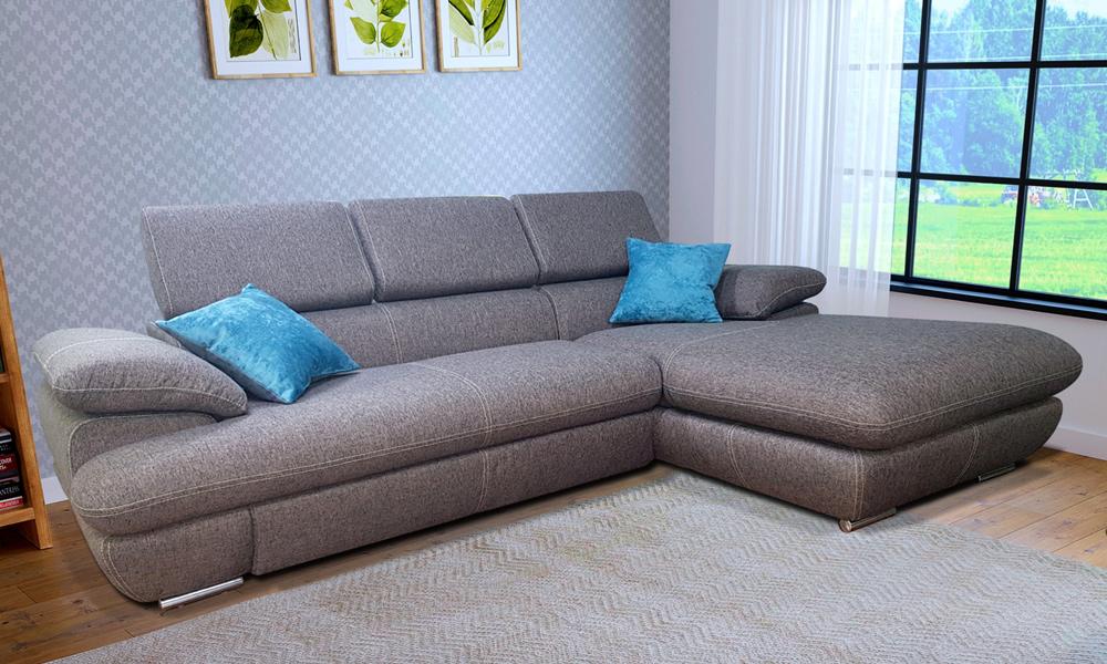 Амадео - диван с оттомнкой