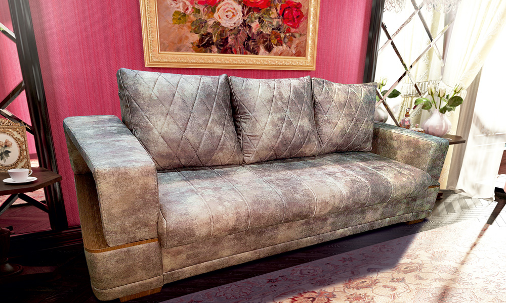 Дельта - прямой диван
