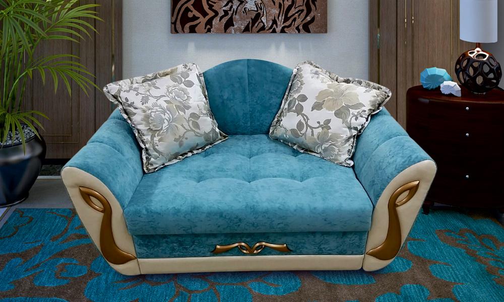 Луч - прямой диван