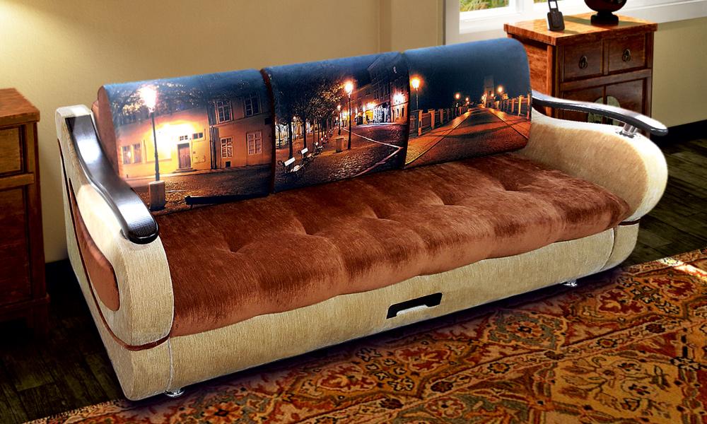Капри - прямой диван